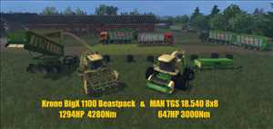 landwirtschafts farming simulator ls fs 15 ls15 fs15 mods download Krone BigX 1100 BeastPack 12.10