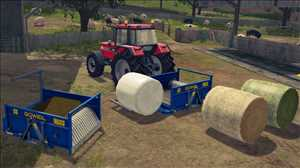 landwirtschafts farming simulator ls fs 17 ls17 fs17 mods download Goweil RBA - Rundballen Mischer 1.0.0.0