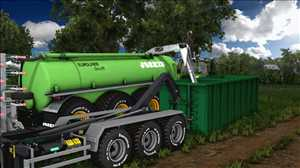 landwirtschafts farming simulator ls fs 17 ls17 fs17 mods download Gülle Container 1.0.0.0