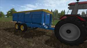 landwirtschafts farming simulator ls fs 17 ls17 fs17 mods download West 10t Kornanhänger 1.1.1.0