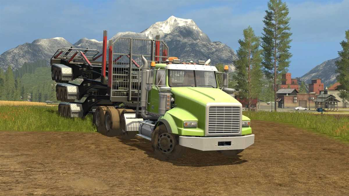 landwirtschafts farming simulator ls fs 17 ls17 fs17 mods download BBM RT Log Trailer 1.0.0.0