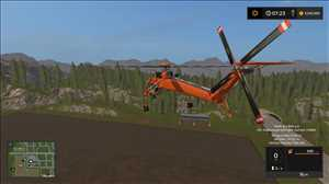 landwirtschafts farming simulator ls fs 17 ls17 fs17 mods download FDR LOGGING GRYPHON HELI 12.2