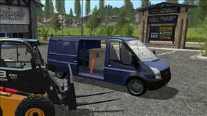 landwirtschafts farming simulator ls fs 17 ls17 fs17 mods download Lizard Rumbler Van 1.0.0