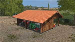 landwirtschafts farming simulator ls fs 17 ls17 fs17 mods download Holz-Scheune 1.0.0.0