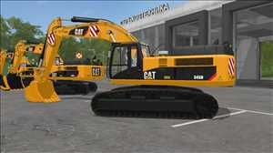 landwirtschafts farming simulator ls fs 17 ls17 fs17 mods download Caterpillar 345D Pack 1.0.0.0