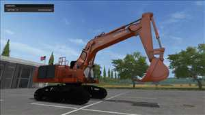 landwirtschafts farming simulator ls fs 17 ls17 fs17 mods download Hitachi EX1200-6 1.0.0