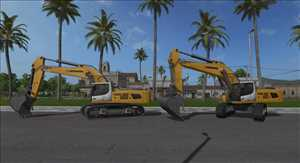landwirtschafts farming simulator ls fs 17 ls17 fs17 mods download Liebherr 956 1.0.0