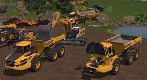 landwirtschafts farming simulator ls fs 17 ls17 fs17 mods download Volvo A40G 1.0.0