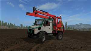 landwirtschafts farming simulator ls fs 17 ls17 fs17 mods download MB Unimog Forst 1.0