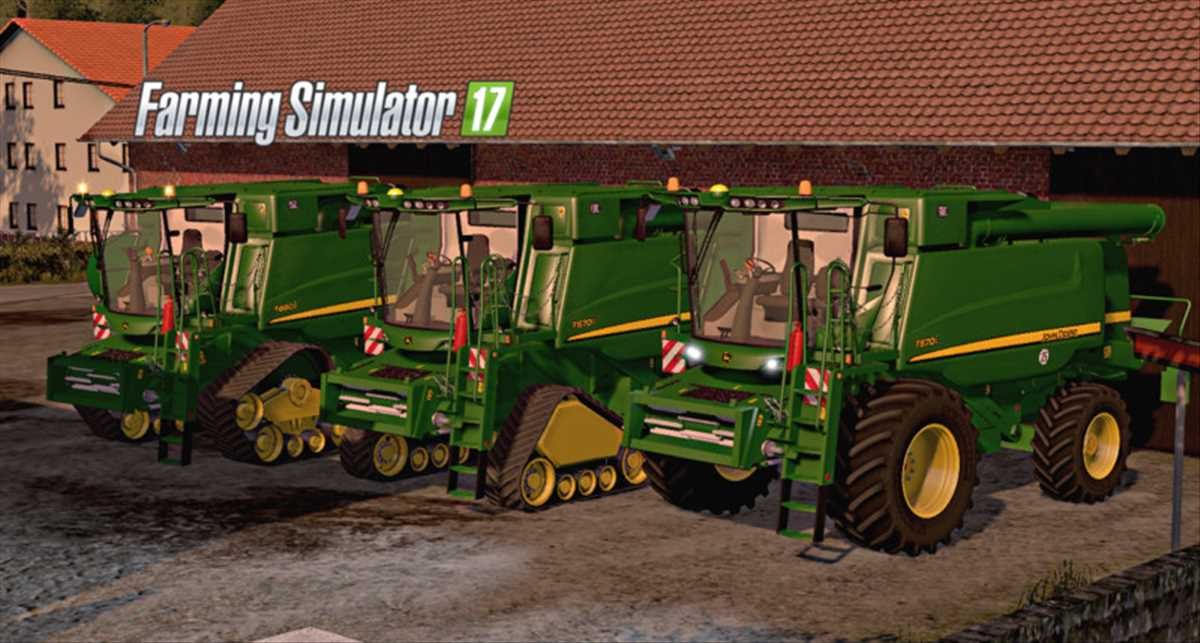 landwirtschafts farming simulator ls fs 17 ls17 fs17 mods download John Deere T660i/670i 4.0