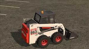 landwirtschafts farming simulator ls fs 17 ls17 fs17 mods download Bobcat 863 Turbo mit Bobcat Schaufel 1.1.0.0