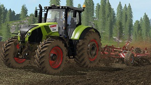 landwirtschafts farming simulator ls fs 17 ls17 fs17 mods download CLAAS Axion 800 1.0.0
