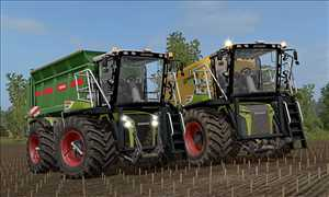 landwirtschafts farming simulator ls fs 17 ls17 fs17 mods download Claas Xerion 4000 Saddle Trac 1.0.0