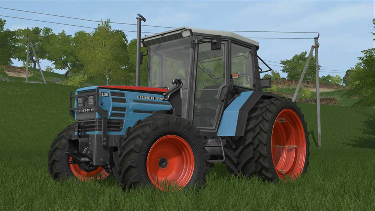 landwirtschafts farming simulator ls fs 17 ls17 fs17 mods download Eicher 2070 - 2100T 2.0.0.0