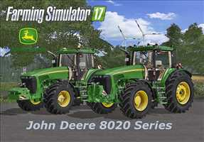 landwirtschafts farming simulator ls fs 17 ls17 fs17 mods download John Deere 8020 Serie 4.0.0