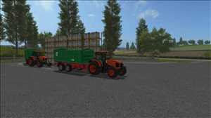 landwirtschafts farming simulator ls fs 17 ls17 fs17 mods download Kubota M135 GX 1.0.0.0