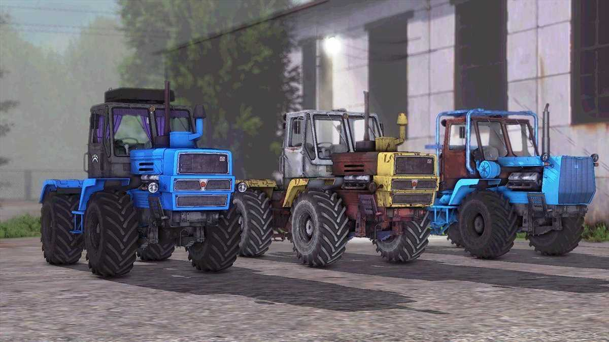 landwirtschafts farming simulator ls fs 17 ls17 fs17 mods download XTZ T-150K Pack 1.1.0.0