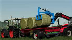 landwirtschafts farming simulator ls fs 19 ls19 fs19 mods download Lizard SH-1 Ballengabel 1.0.0.0