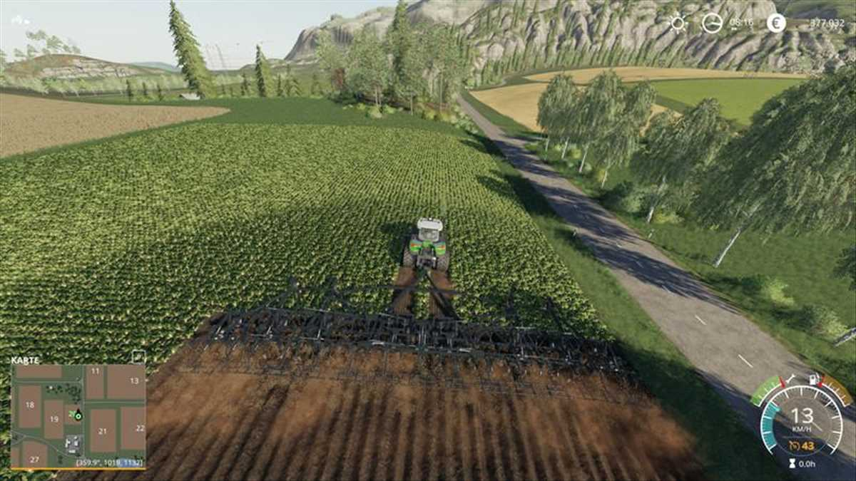landwirtschafts farming simulator ls fs 19 ls19 fs19 mods download LS19 Plow ST820 1.1
