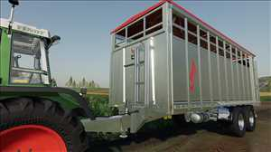 landwirtschafts farming simulator ls fs 19 ls19 fs19 mods download Fliegl Viehtransporter 1.0.0.0