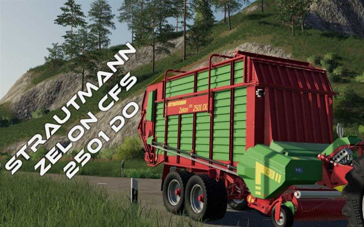 landwirtschafts farming simulator ls fs 19 ls19 fs19 mods download Strautmann Zelon CFS 2501 DO 1.0