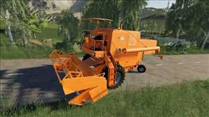 landwirtschafts farming simulator ls fs 19 ls19 fs19 mods download Bizon Z056 Super Orange 1.1