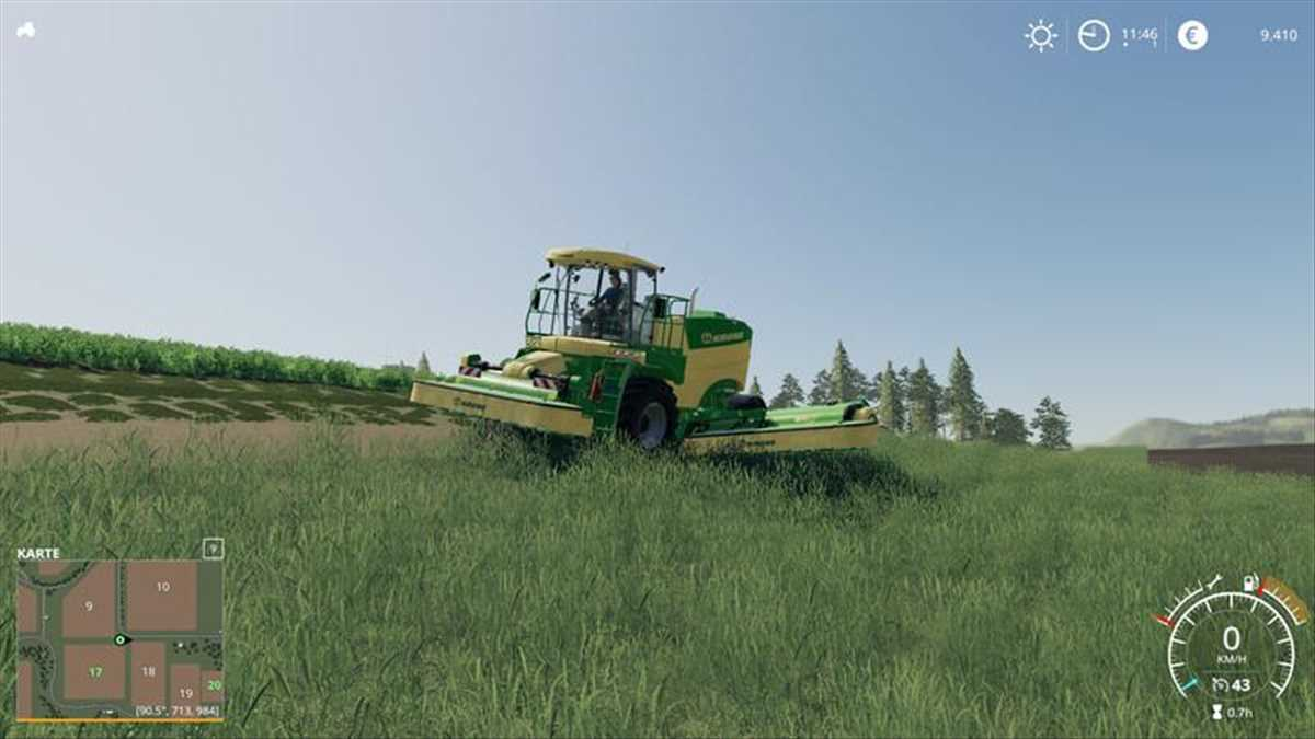 landwirtschafts farming simulator ls fs 19 ls19 fs19 mods download Big M 450 RS 1.0