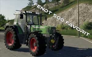 landwirtschafts farming simulator ls fs 19 ls19 fs19 mods download Fendt 500 Favorit 1.0.0.0