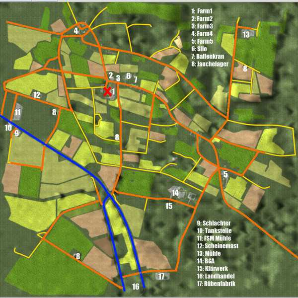 LS2013 Maps & Gebäude 4fach Maps MIG Map MadeInGermany Region Celle ...