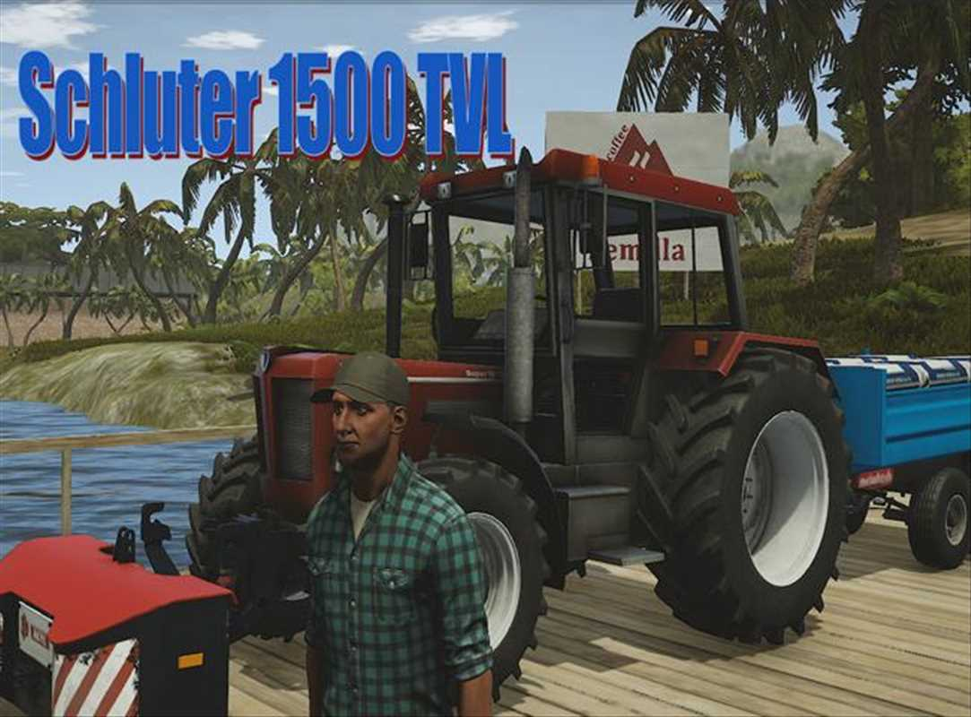 pure farming 2018 purefarming2018 mods download Schlüter 1500 TVL Tractor 1.0